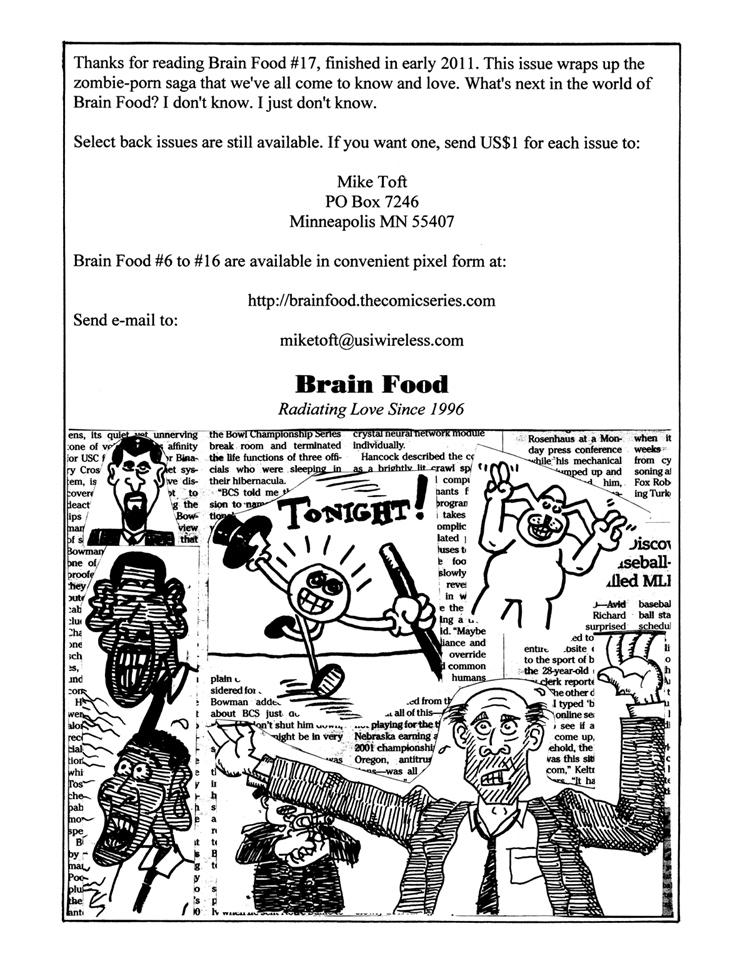 Brain Food 17